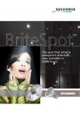 Sylvania. Лампы металлогалогенные Britespot (англ. версия)
