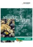 Sylvania. Освещение аквариумов и террариумов (англ. версия)
