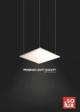 SOLUX. Светодиодные светильники (англ. версия)