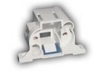 Патрон для люминесцентных ламп LST 23.203 G23, для КЛЛ PL-S 2pin, накладной вывод проводов к тыльной стороне