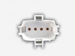 Патрон для люминесцентных ламп LST 23.403 2G7, для КЛЛ PL-S 4pin, накл. вывод проводов к тыльной стороне, крепл на винты