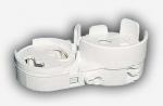 Патрон для люминесцентных ламп LST 15.502 G13 накидной + стартёродерж., крепл. на винт