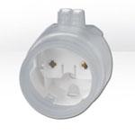 Патрон BJB 26.424.9001.50 накидной для люминесцентной лампы T8 G13 c силиконовой оболочкой (водо- и пылезащищенный)