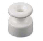 Изолятор керамический В1-551-01 18х19 mm белый