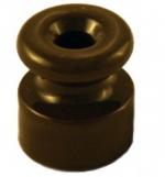 Изолятор керамический В1-551-02 65х46mm коричневый