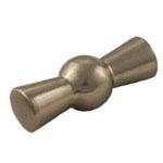 Ручка выключателя В-901-30 10х32mm металл/хром