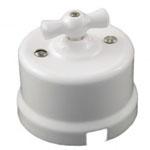 Выключатель 2-кл. 10А 250В В1-202-01 65x48mm Белый