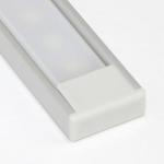 Алюминиевый профиль Zercale Z-443 накладной, для светодиодной ленты SMD 3528, комплект 2 м