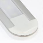 Алюминиевый профиль Zercale Z-444 врезной, для светодиодной ленты SMD 3528, комплект 2 м