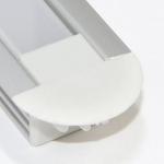 Алюминиевый профиль Zercale Z-441 врезной, для светодиодной ленты SMD 3528/5050, комплект 2 м