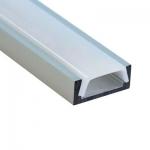 Алюминиевый профиль Feron 10267 CAB262 накладной, для светодиодной ленты, комплект 2 м