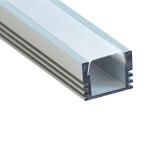 Алюминиевый профиль Feron 10266 CAB261 накладной, для светодиодной ленты, комплект 2 м