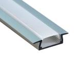 Алюминиевый профиль Feron 10265 CAB251 накладной, для светодиодной ленты, комплект 2 м