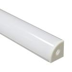 Алюминиевый профиль Feron 10299 CAB280 накладной, для светодиодной ленты, комплект 2 м