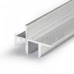 Алюминиевый профиль Topmet 82130000 TWIN8 1000мм для стекла, алюминий