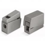 Клемма для подключения осветительных приборов WAGO 224-101  входной проводник сечением 1,0-2.5 мм2 без пасты, с непрерывной рабочей температурой 105°C, серый