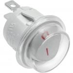 Качельный переключатель GTV AE-WLIP44-15, IP44, макс.1300Вт, макс.230В, белый