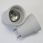 Патрон для ламп накаливания Issata 238385s1 F540 E40-BS шпилька, стопор, 16A, 750В, керамический