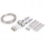 Комплект крепления к потолку Topmet Light 67120022 SELV, 50В, 150мм, серебряный