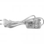 Сетевой шнур с диммером Feron 6901-11 DM103-200W, 230V 1,5+0,5м, прозрачный