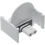 Соединительный адаптер для светодиодных светильников GTV ZM-MAG2PZL-10 MAGNAT, белый