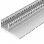 Алюминиевый профиль Topmet G2000220 UNI-TILE12 180° 2000мм, анодированный алюминий