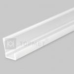 Профиль светодиодный поликарбонатный гибкий Topmet G5000220 SLASH8, 2000мм, изгиб 25см, белый (опал)