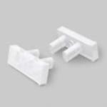 Заглушка для светодиодного профиля Topmet G5999922 SLASH8, PMMA, белый (опал)