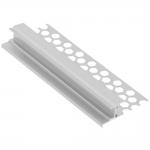 Профиль алюминиевый GTV PA-GLAXGKS3M-00 LED GLAX, настенный, для гипсокартонных плит, длина 3м, неанодированный