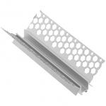 Профиль алюминиевый GTV PA-GLAXGKWK3M-00 LED GLAX, угловой внутренний, для гипсокартонных плит, длина 3м, неанодированный