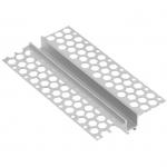 Профиль алюминиевый GTV PA-GLAXGKL3M-00 LED GLAX, линейный, для гипсокартонных плит, длина, 3м, неанодированный