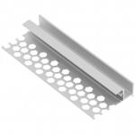 Профиль алюминиевый GTV PA-GLAXGKW3M-00 GLAX, потолочный, для гипсокартонных плит, длина 3м, неанодированный