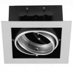 Светильник встраиваемый Lumex WL111-1 1*AR111 G53 серый