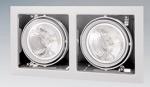 Светильник 214120 CARDANO 111X2 BIANCO 12B DR111 max 75Bт