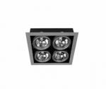 Светильник Brilum OS-PAS400-90 PASEO 400 AR111/G53/4x50W серый