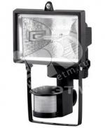 Прожектор галогенный Jazzway 3334360 JM-150Вт (G), 220В с датчиком, черный