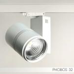 Светильник FireLED Фобос 32 FLED-TL 067-32 3000K CRI90 24 DIMM Белый, диммируемый