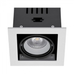 Светильник светодиодный Gracion R20-8W (RS-CM-G1-8W) 3000K 36° CRI 80 Silver