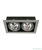 Светильник Brilum OS-PAS200-10 PASEO 200 AR111/G53/2x50W белый