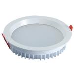 Светильник светодиодный встраиваемый Zercale 15W KAS-DL15-B-415 3000K, белый, круглый, 140мм