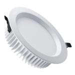 Светильник светодиодный встраиваемый Zercale 30W KS-DL01-D-630 3000K, белый, круглый, 196мм