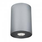 Светильник накладной Nowodvorski Point 6005 silver / graphite l