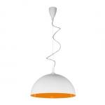 Светильник подвесной Nowodvorski Hemisphere 6375 white-orange fluo L