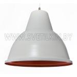 Светильник подвесной Zercale Cupola 01-300-102, белый+оранжевый