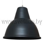 Светильник подвесной Zercale Cupola 01-300-102, антрацит+антрацит