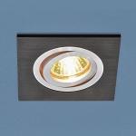 Точечный светильник Электростандарт 4690389083655 1051/1 BK черный