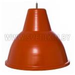 Светильник подвесной Zercale Cupola 01-300-102, оранжевый+оранжевый