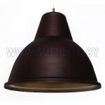 Светильник подвесной Zercale Cupola 01-300-102, ржавчина+золото