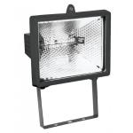 Прожектор галогенный ПЭК 150W R7s, черный