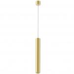 Светильник светодиодный подвесной Kam`s Light KAS-PL01-A-5005-400 5W 3K, CREE COB+Kegu, 24°, CRI82, IP20, 400*50*1940mm, золото